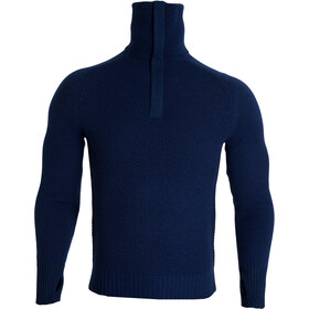 Tufte Wear Bambull Blend Pullover Media cremallera, insignia blue melange